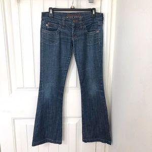 Frankie B Limited Edition Medium Wash Flare Jeans